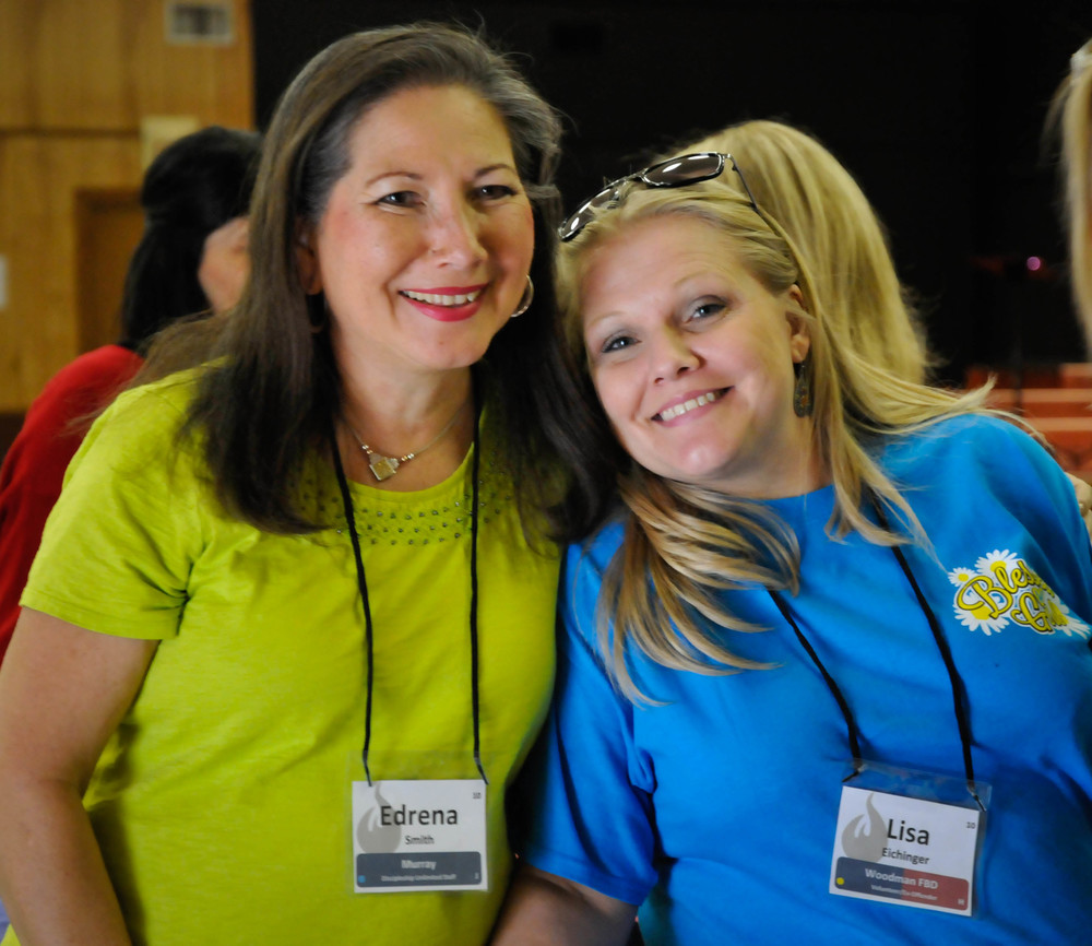 Faith Dorm Ministry Director Edrena Smith and Lisa Eichinger