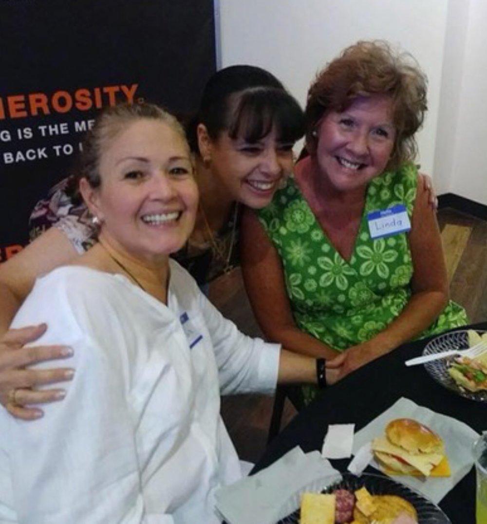 Clara and Gatesville alumni at Refuel