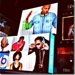 big screen times square