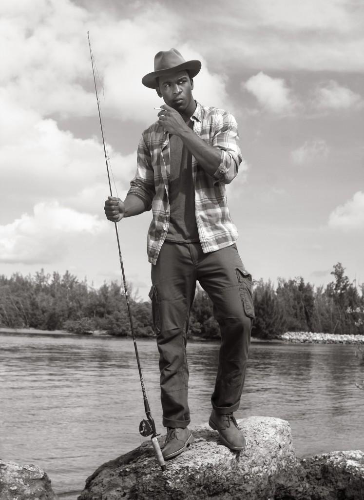 AYGEMANG CLAY FISHING -PRINT 9185
