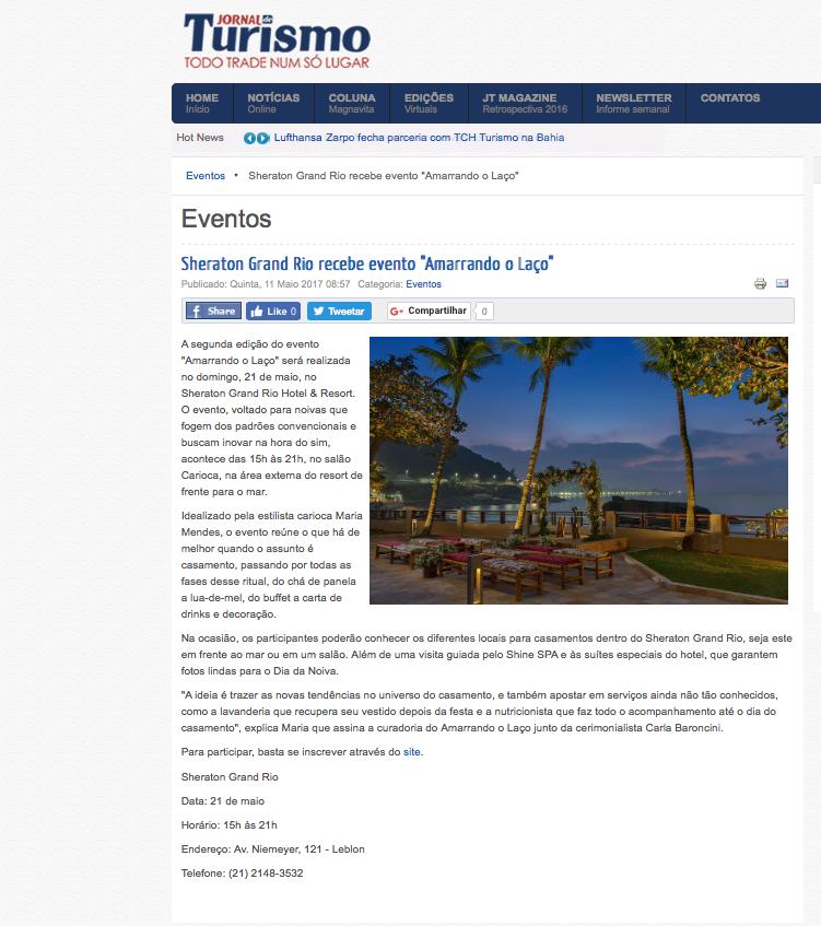 11/05 - Jornal do Turismo