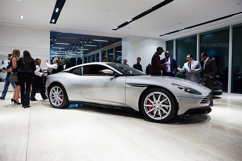 Aston Martin DB11 x Hackett London Event - Photo by FullMotionNYC | Kenny Chan