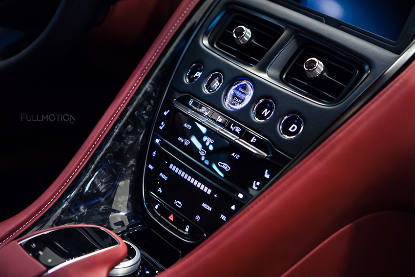 Aston Martin DB11 Interior - Photo by FullMotionNYC | Kenny Chan