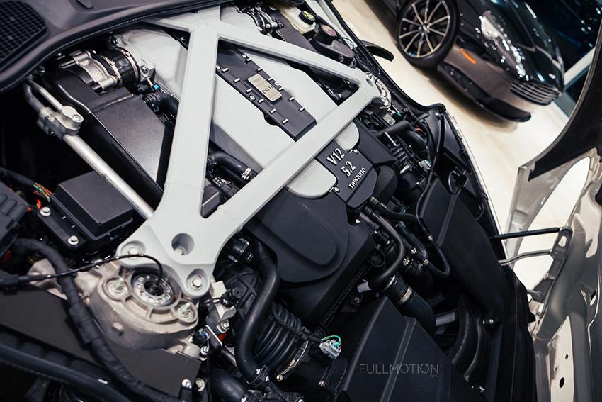 DB11 Engine Bay - Photo by FullMotionNYC | Kenny Chan