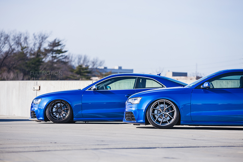 Sepang Blue Audi RS5  - Photo by FullMotionNYC | Kenny Chan