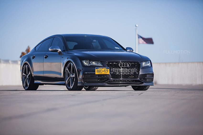 Patriot USA Audi S7 - Photo by FullMotionNYC | Kenny Chan