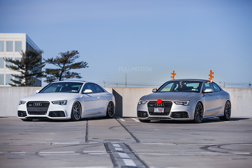 Audi RS5 Holiday Season  - Photo by FullMotionNYC | Kenny Chan