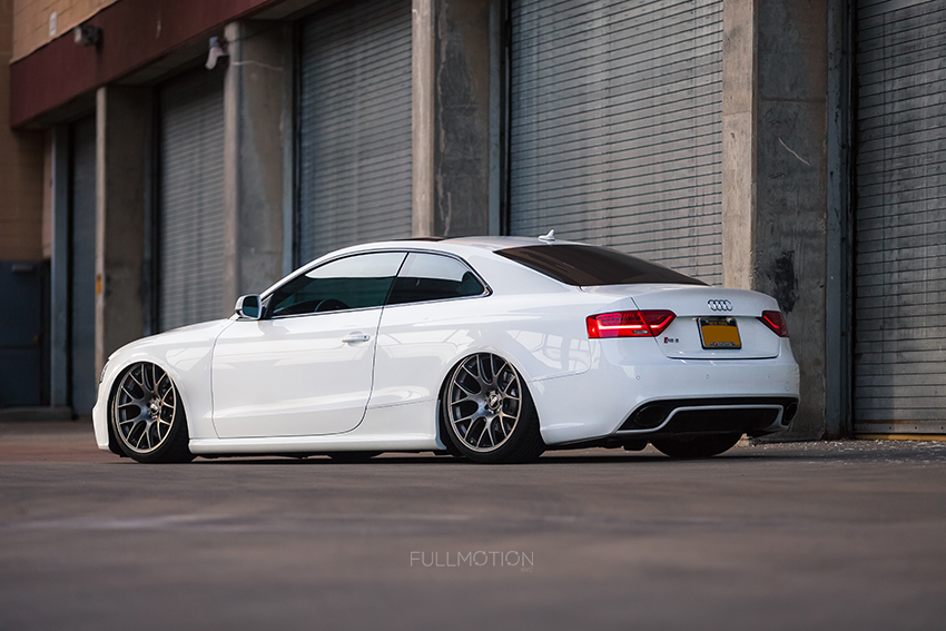 Ibis White Audi RS5 New York - Industrial Edition - Photo by FullMotionNYC | Kenny Chan