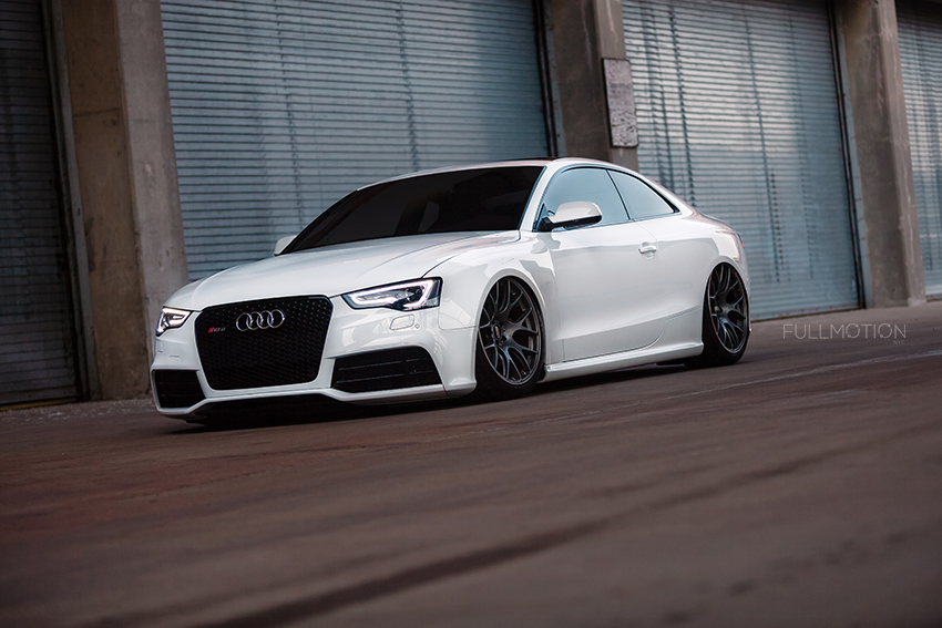 Ibis White Audi RS5 - Industrial Edition - Photo by FullMotionNYC | Kenny Chan