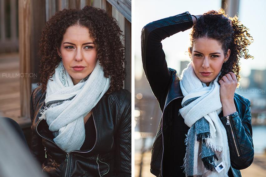 Long Island City Portrait with Amanda - Photo by FullMotionNYC | Kenny Chan