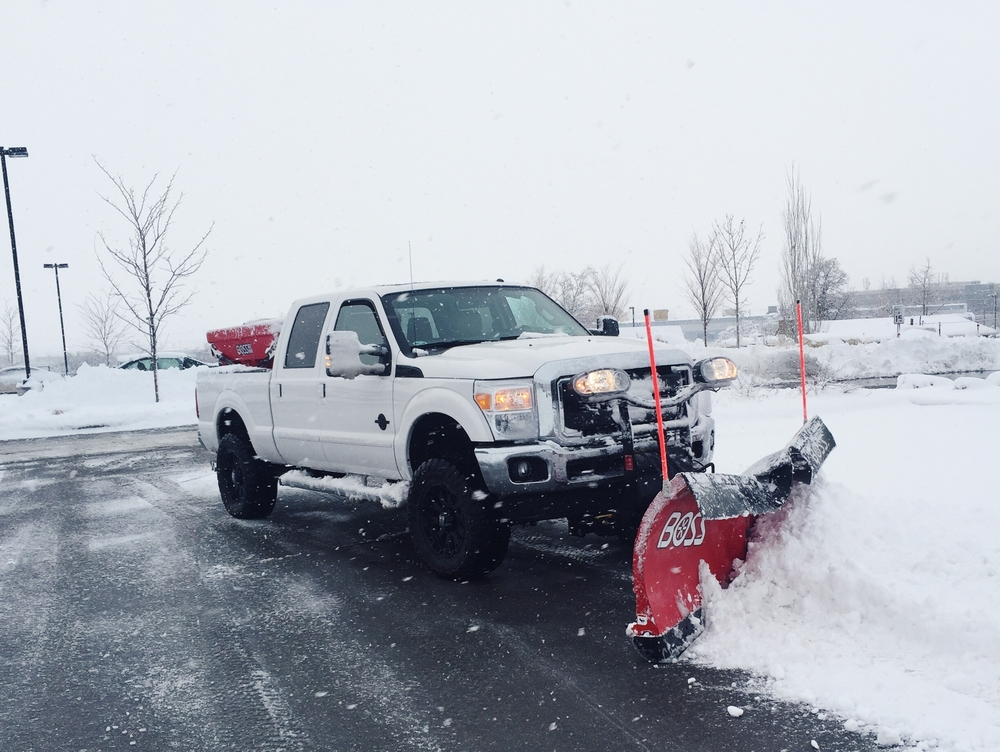 Kimball Property Maintenance Snow Removal, December 14. 2015
