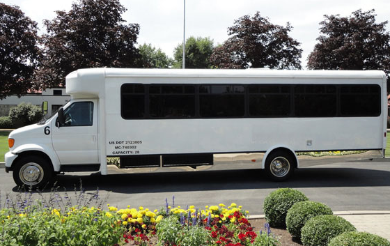 Enjoy a state-of-the-art party bus in rochester ny