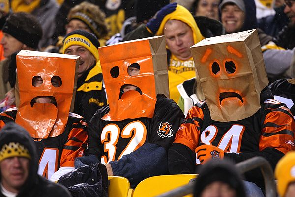 Image result for bengals fans crying