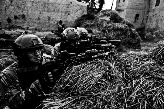 U.S Army Rangers from the 75th Ranger Regiment
