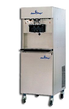 twin twist pressurized ice cream machine