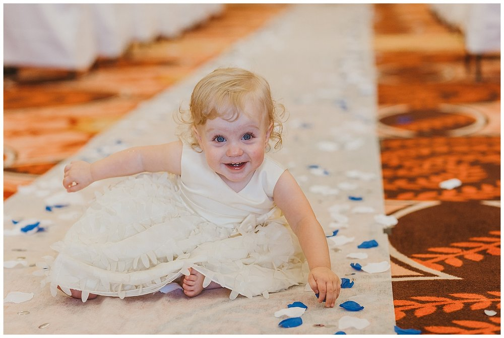 If you want an aisle runner, make it extra special and have it rolled out just before the flower girl walks down the aisle so it's pretty and fresh for the beautiful bride!