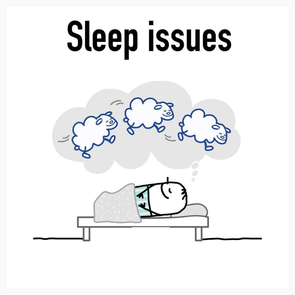 Sleep problems hypnosis