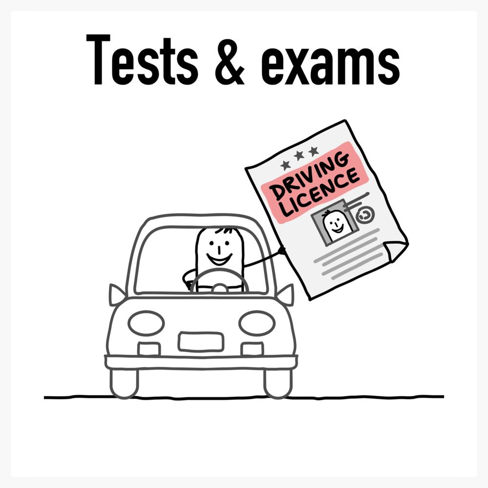 Test & exam hypnosis