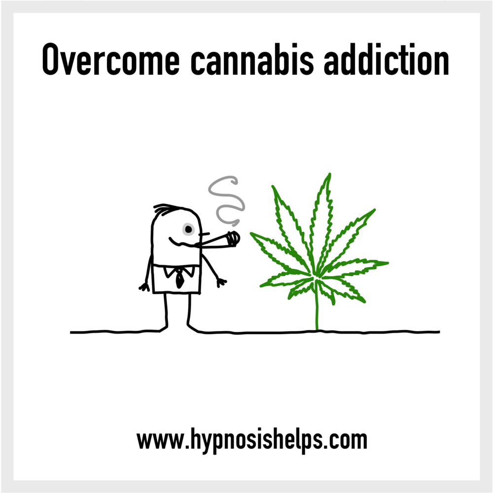 Overcome cannabis addiction — Hypnosis Downloads for