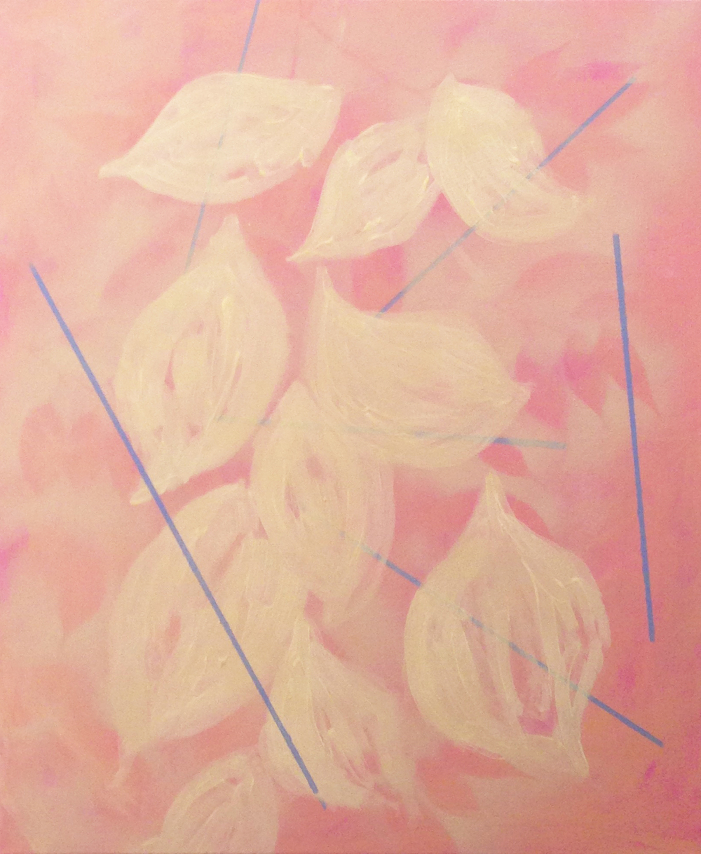 Fallen Leaves, 30x40cm, acrylic on canvas, 2015
