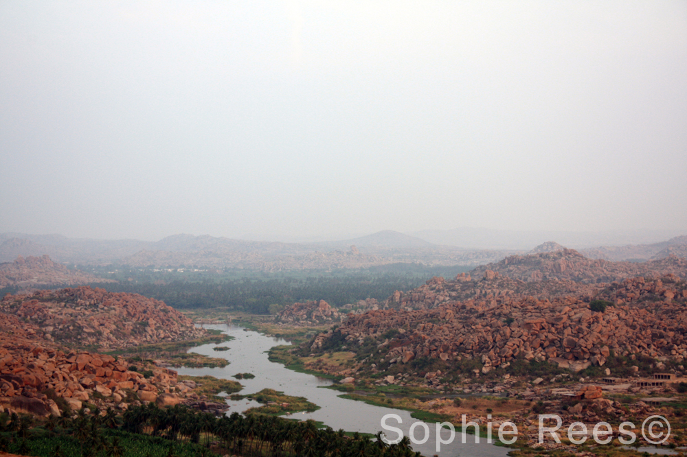 At the top 2, Hampi, 2013