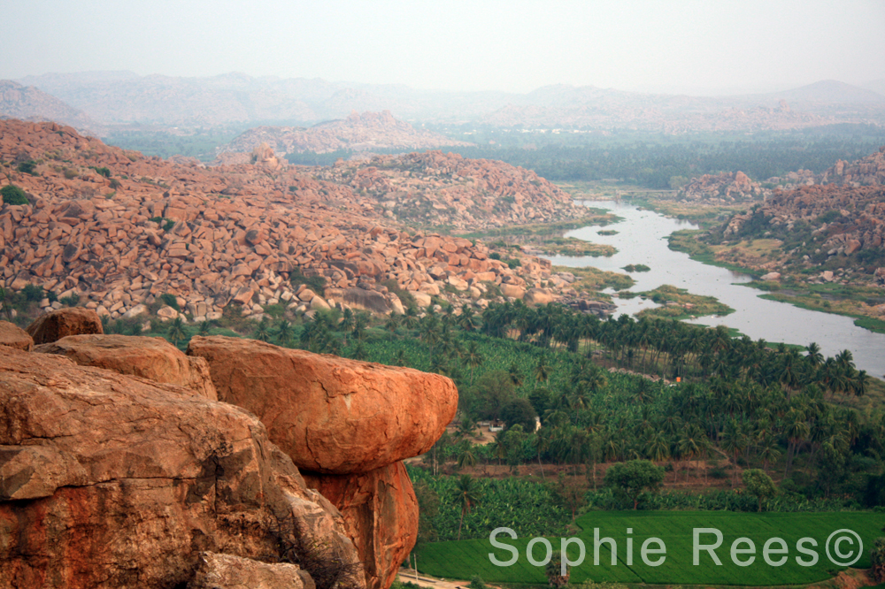 At the top 1, Hampi, 2013