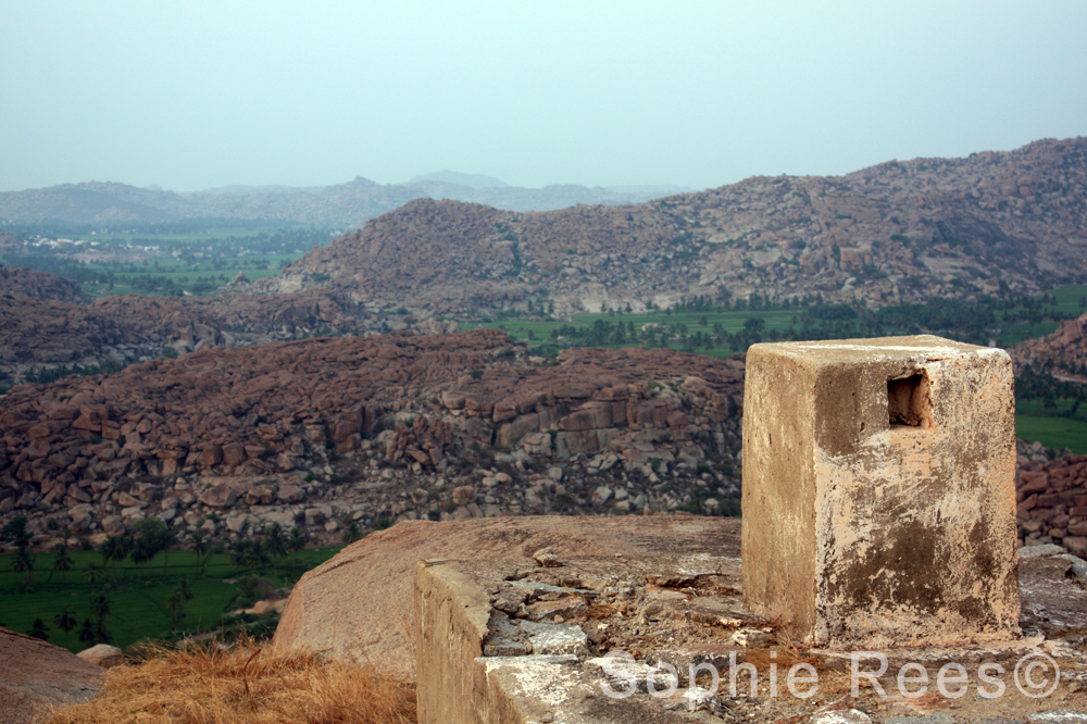 At the top 3, Hampi, 2013