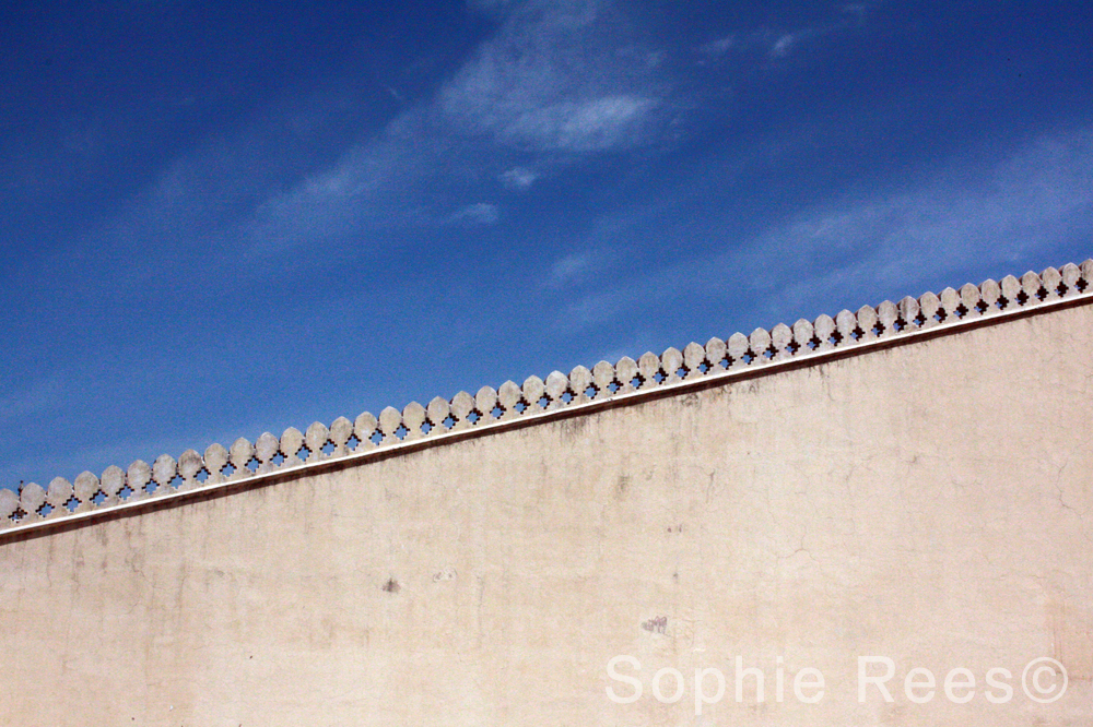 Meeting the sky, Jaipur, 2013