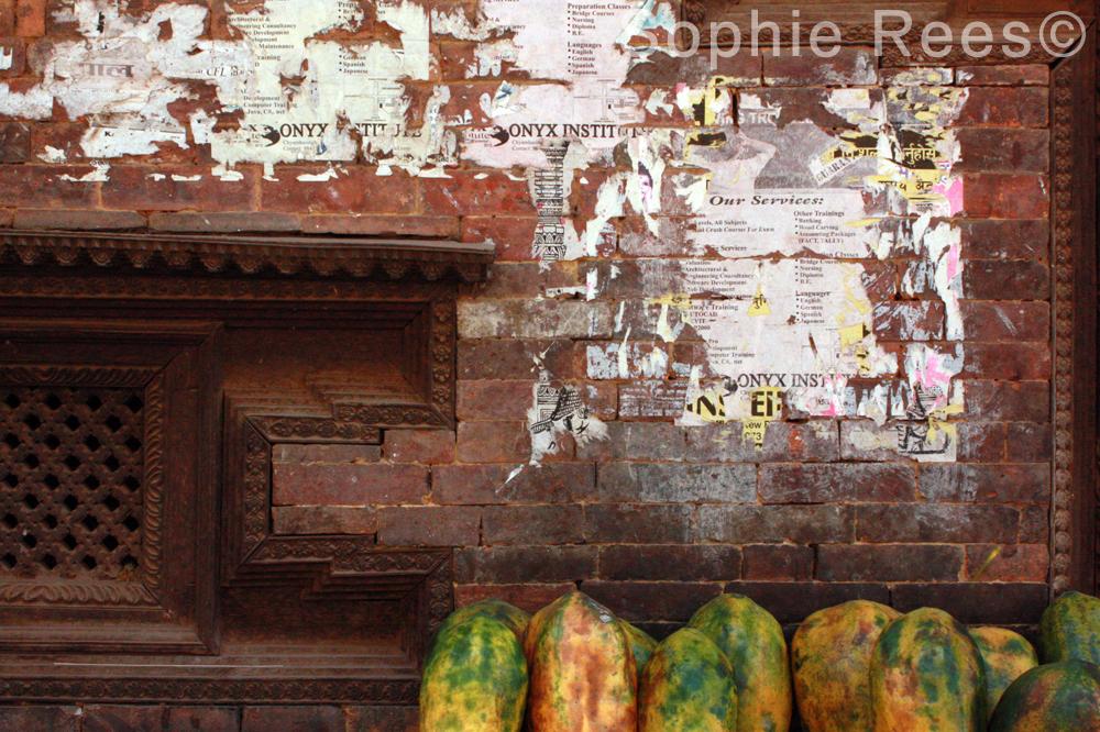 Papaya, Bhaktapur, 2013