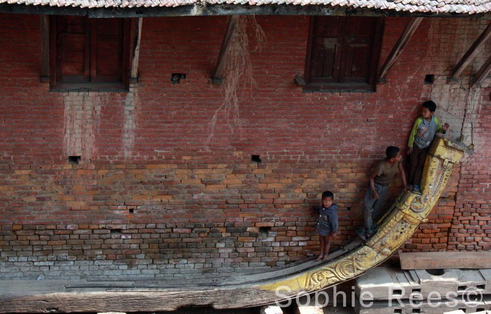 Charriot, Bhaktapur, 2013