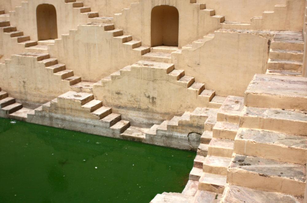 Steps, Jaipur, 2018