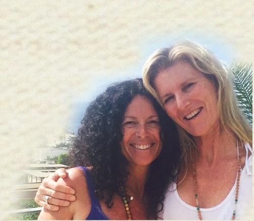 Monica Mesa Dasi and Shiva Rea