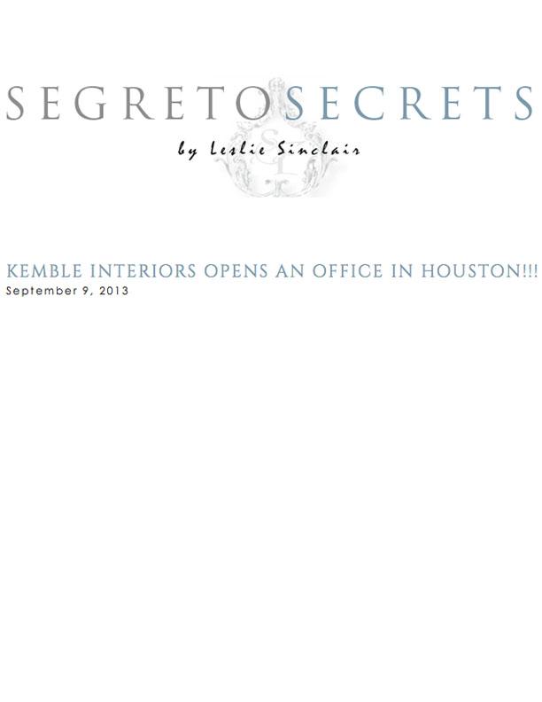 Segreto Secrets September 9, 2013