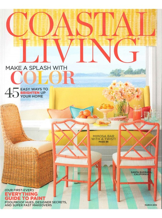 Coastal Living, March 2016
