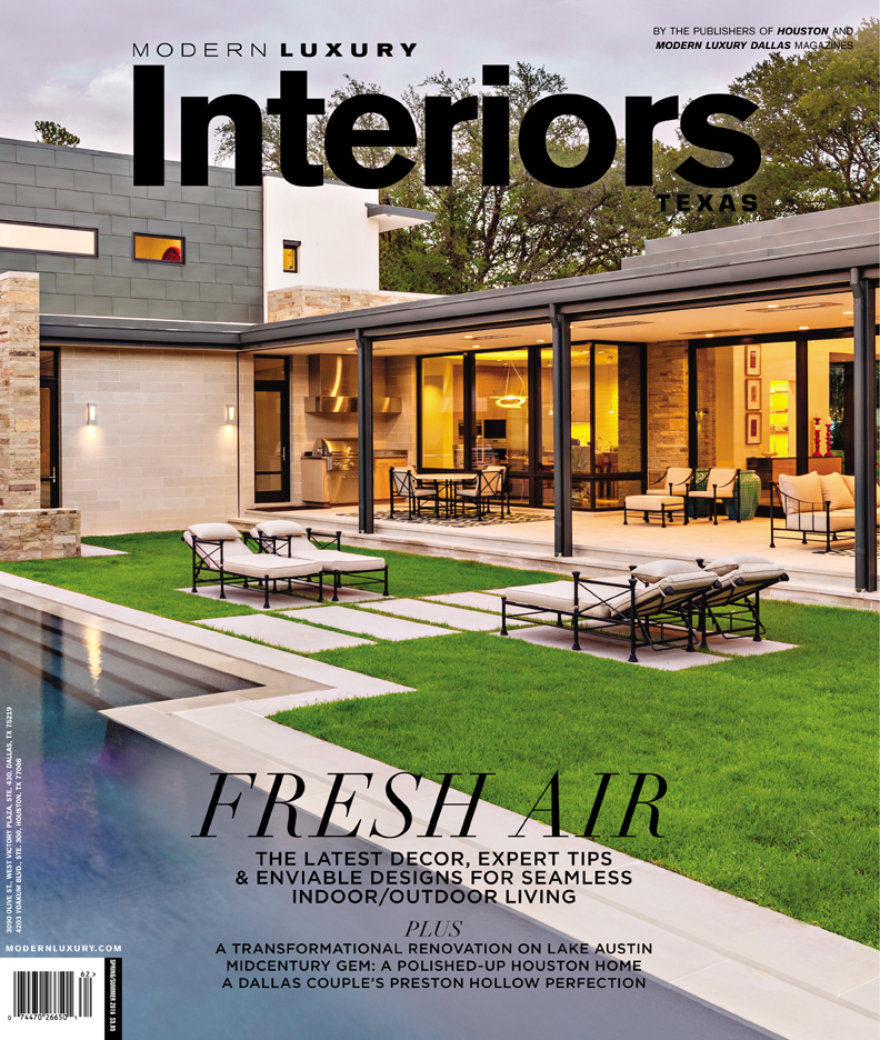 Modern Luxury Interiors Texas, Spring / Summer 2016