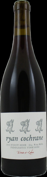"2013 Ryan Cochrane Wines Pinot Noir Sta. Rita Hills ""Fiddlestix Vineyard"""