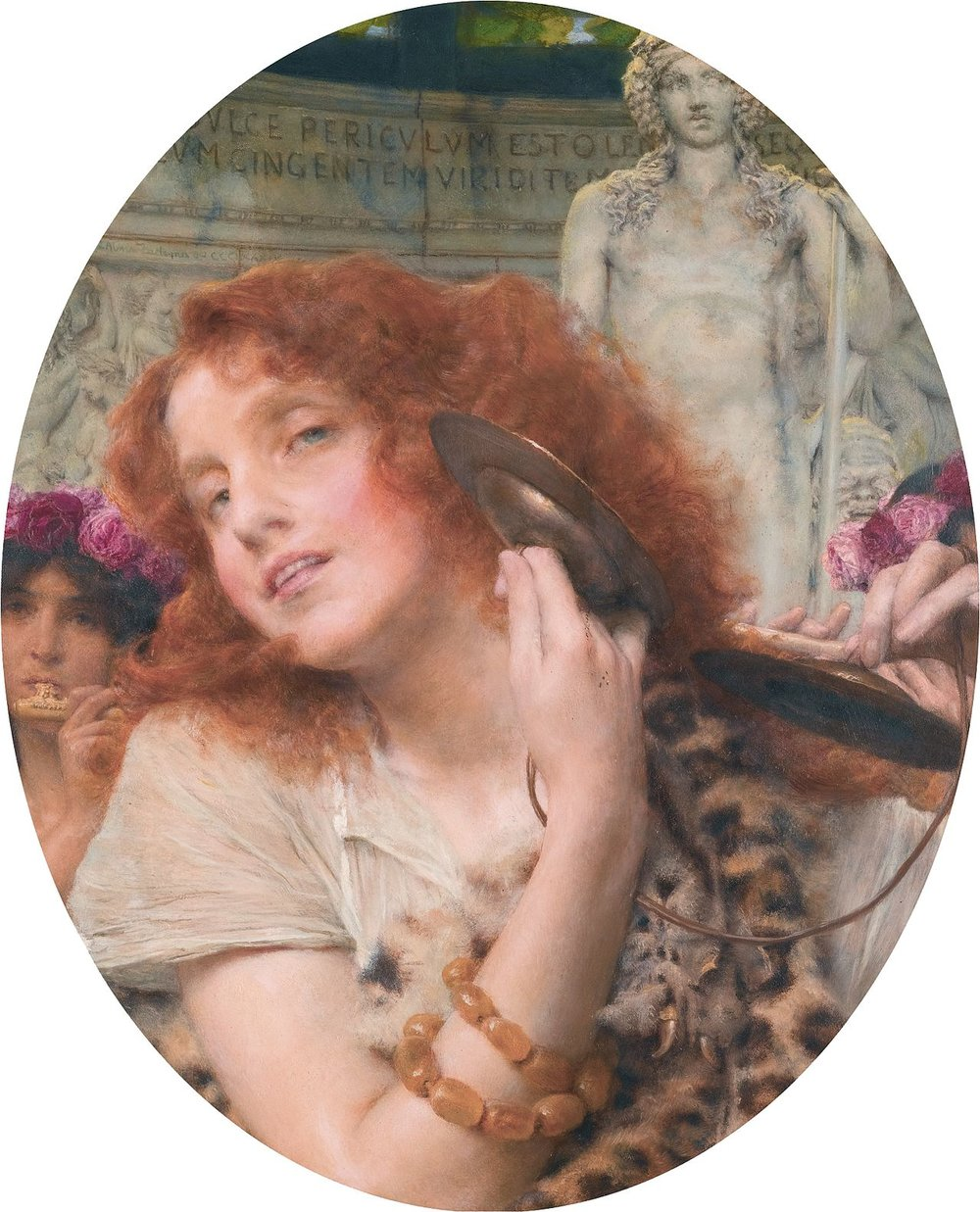 Bacchante by Lawrence Alma-Tadema