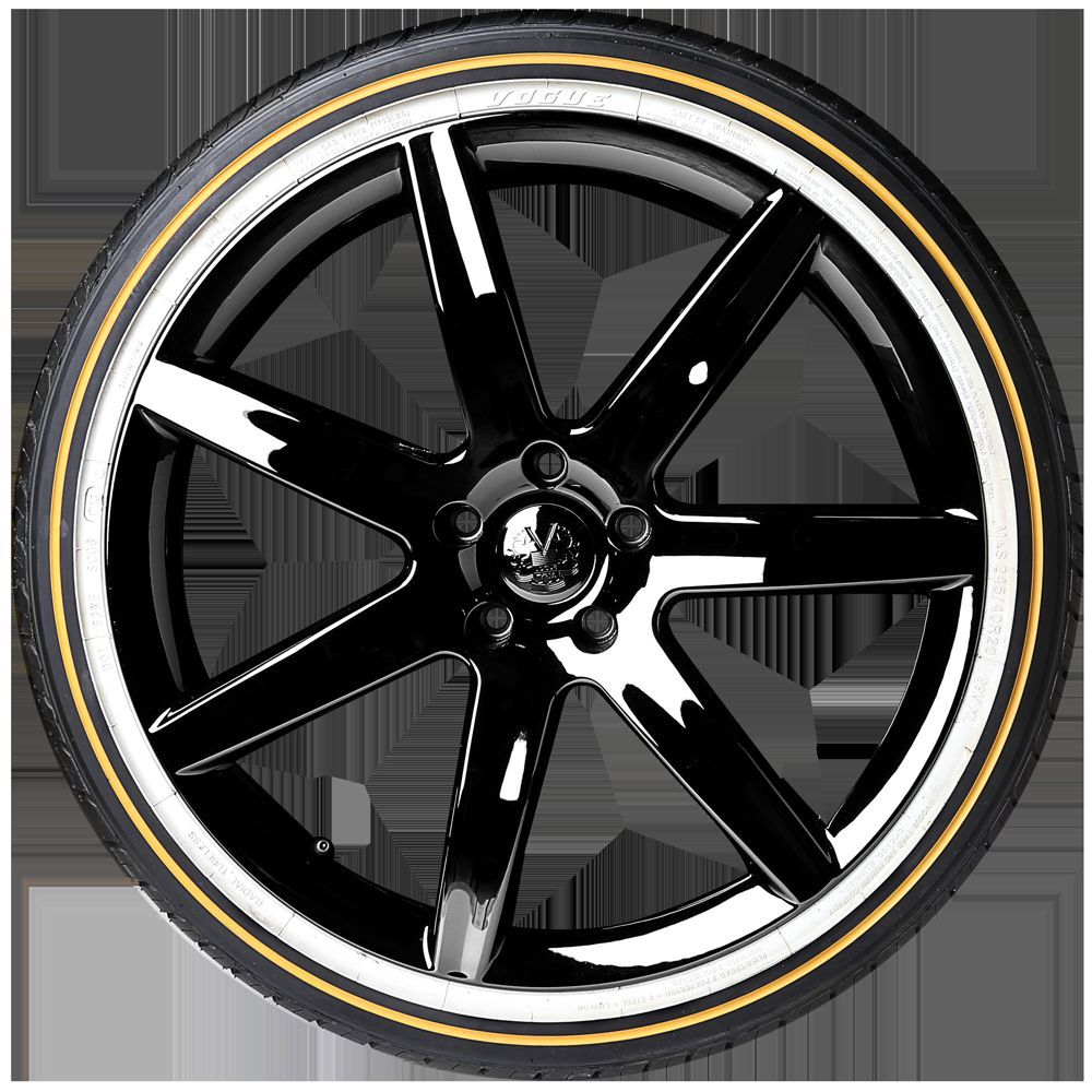 "Vogue Tyre 19"" 245-45R19 XL White & Gold (Four)"