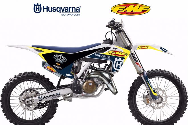 FMF 125 Dream Race Bike Giveaway