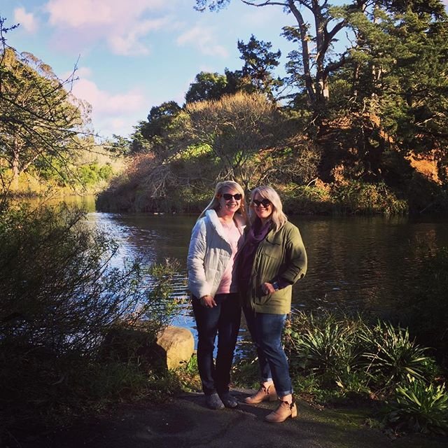 Beautiful afternoon at beautiful Golden Gate Park with beautiful friends. #goldengatepark #stowlake #sanfrancisco