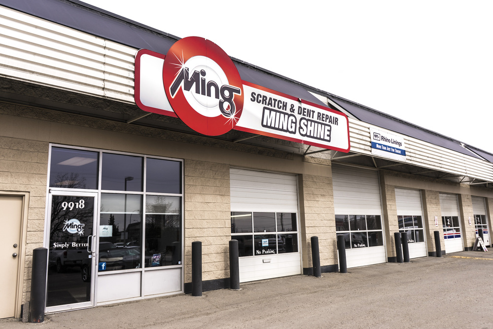 Ming Shine South Edmonton Location