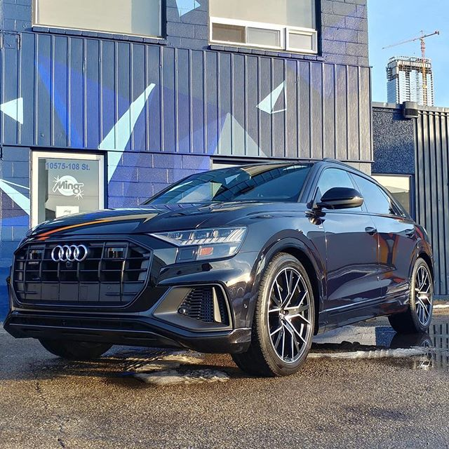 Thoughts on the new Q8? In for a ceramic coating #ceramicprotection #audiq8  #mingshine #newcarprotection @optimumpolymer