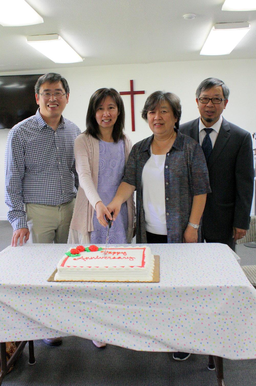 牧師和師母們