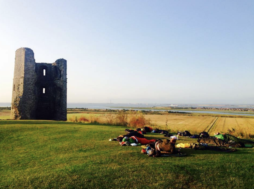 YesTribe Campout at Hadleigh Castle