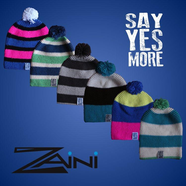 ec2049c8051 SayYesMore Zaini Bobble Hat — SayYesMore