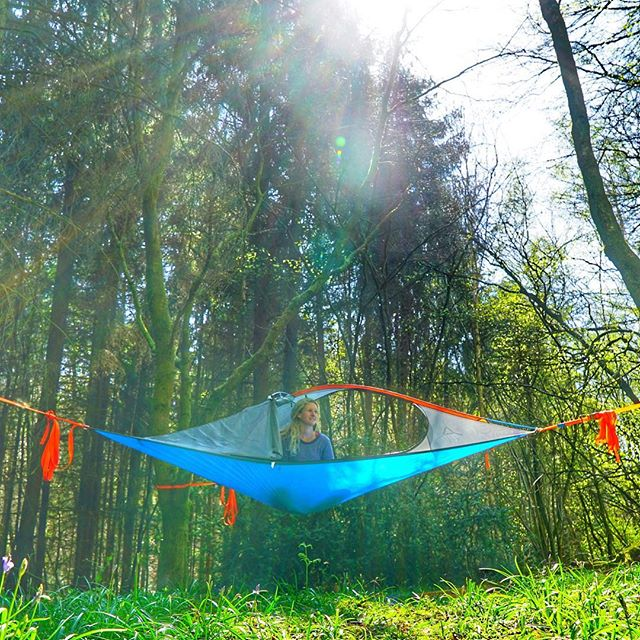 Find three trees and hang out for a day with @tentsile. 10% off one of these bad boys with code: YESTOTENTSILE on www.tentsile.co.uk