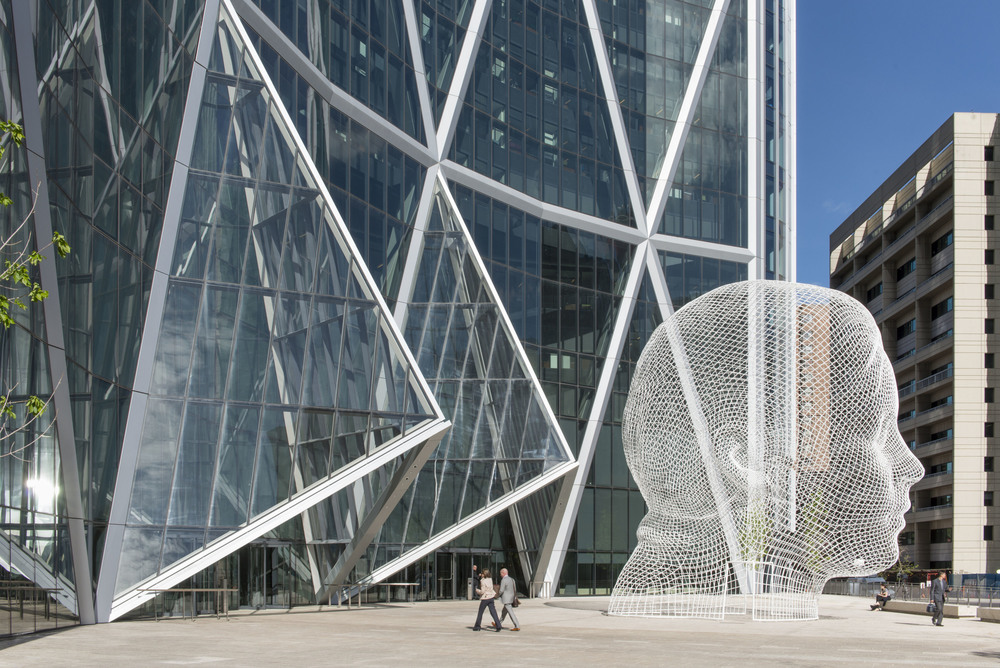 The Bow, with Foster + Partners
