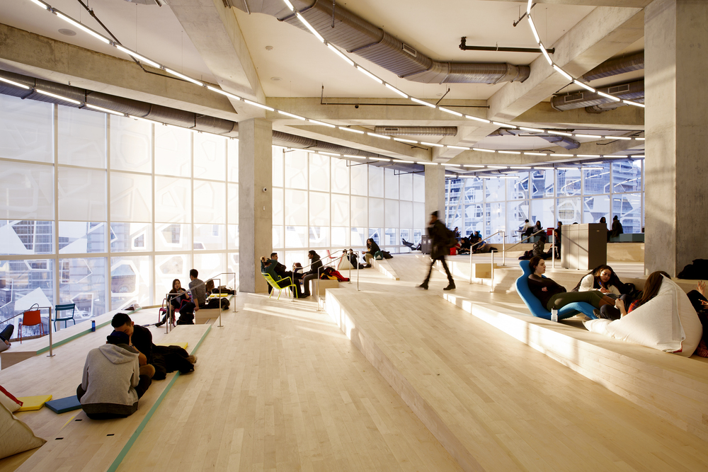 Student Learning Centre, Ryerson University, with Snøhetta