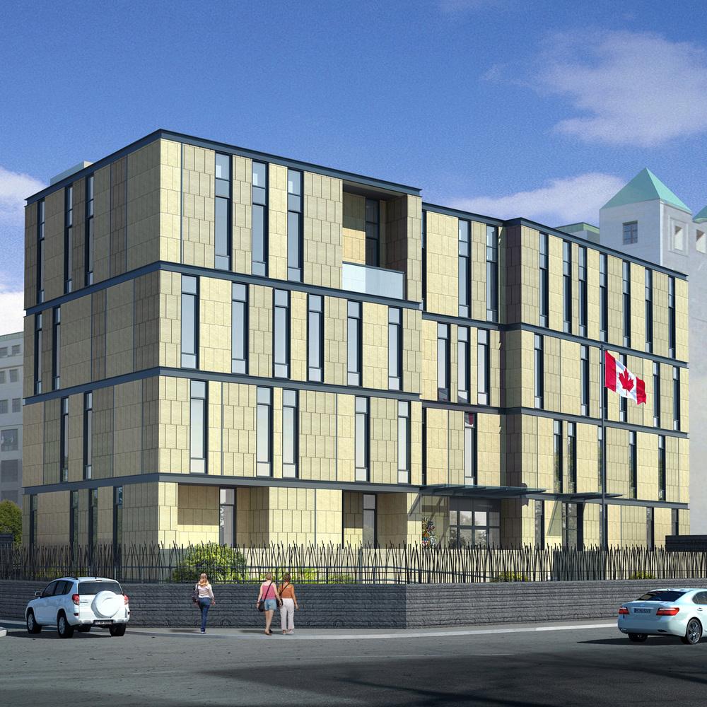 Canadian Embassy, Astana
