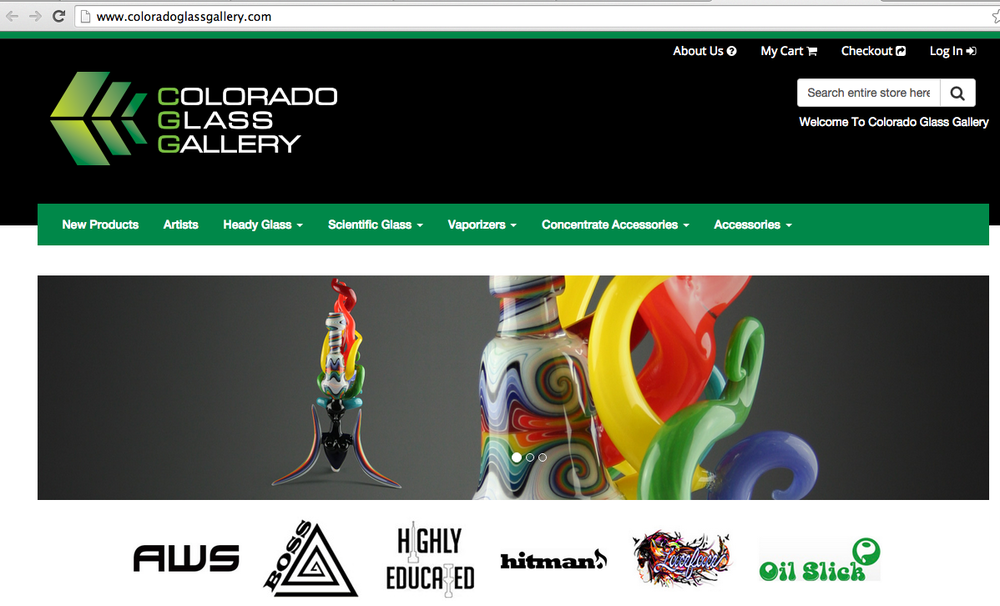 Colorado Glass Gallery Featured Image